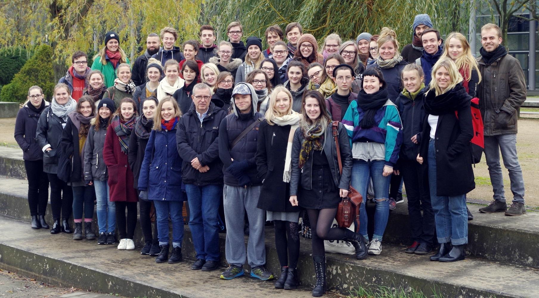 Das aktuelle Team von »Leipzig lauscht«. © Juliane Seifert