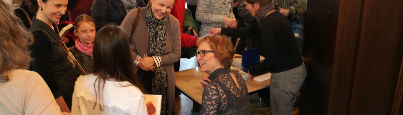 Begegnung mit der Autorin © Sonja Dietschi