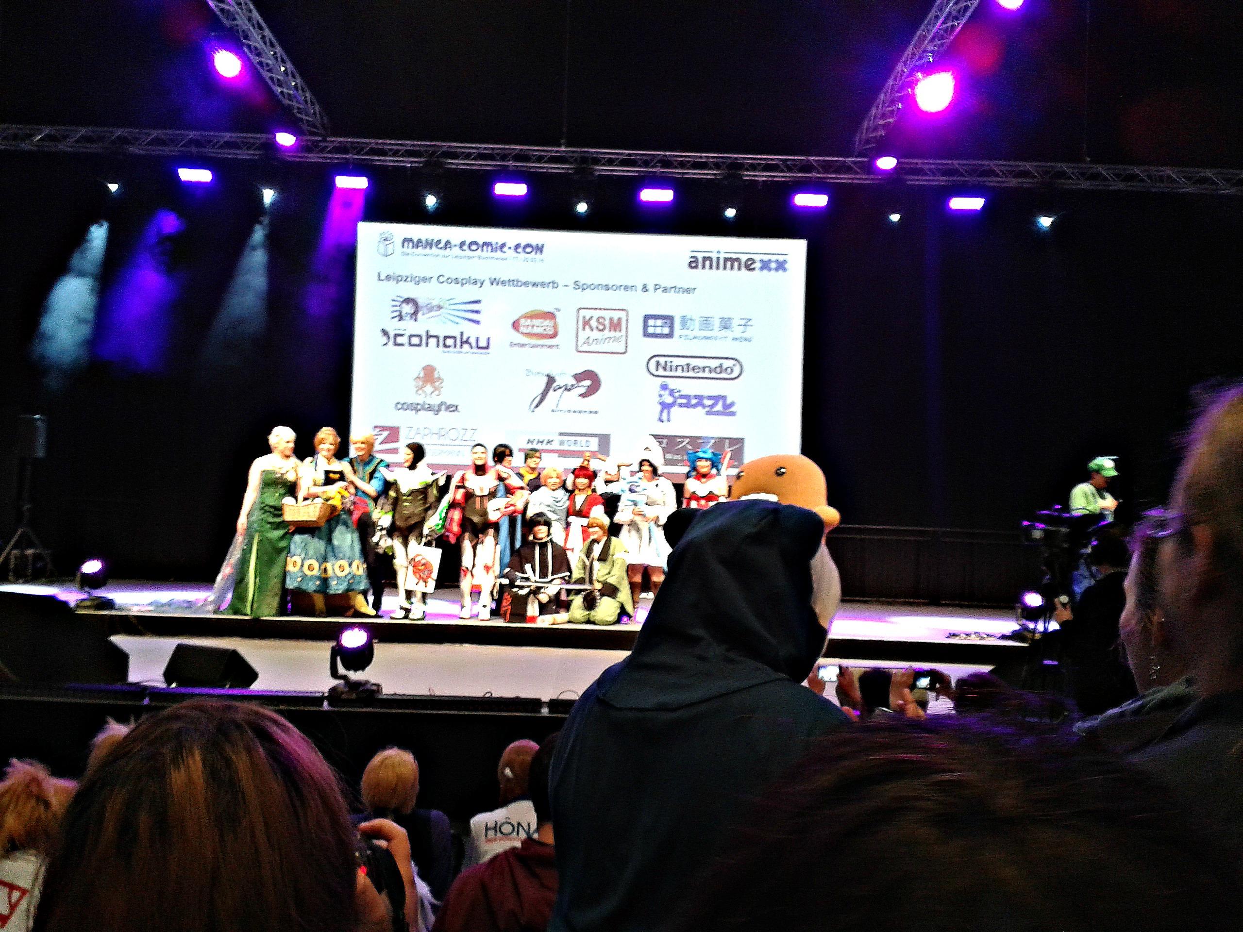 Die Gewinner des Leipziger Cosplay Wettbewerbs. © Michelle Jaedeke