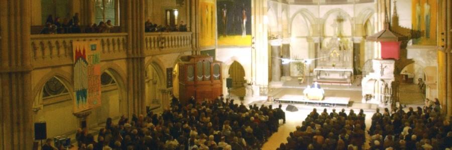 Mario Adorf liest in der Peterskirche © Leipziger Messe/Tom Schulze