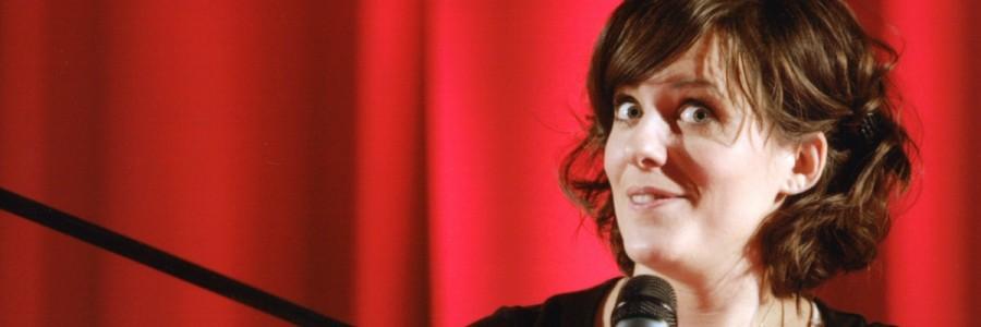 Sarah Kuttner liest aus »Mängelexemplare« im CineStar Leipzig. © Leipziger Messe/Tom Schulze
