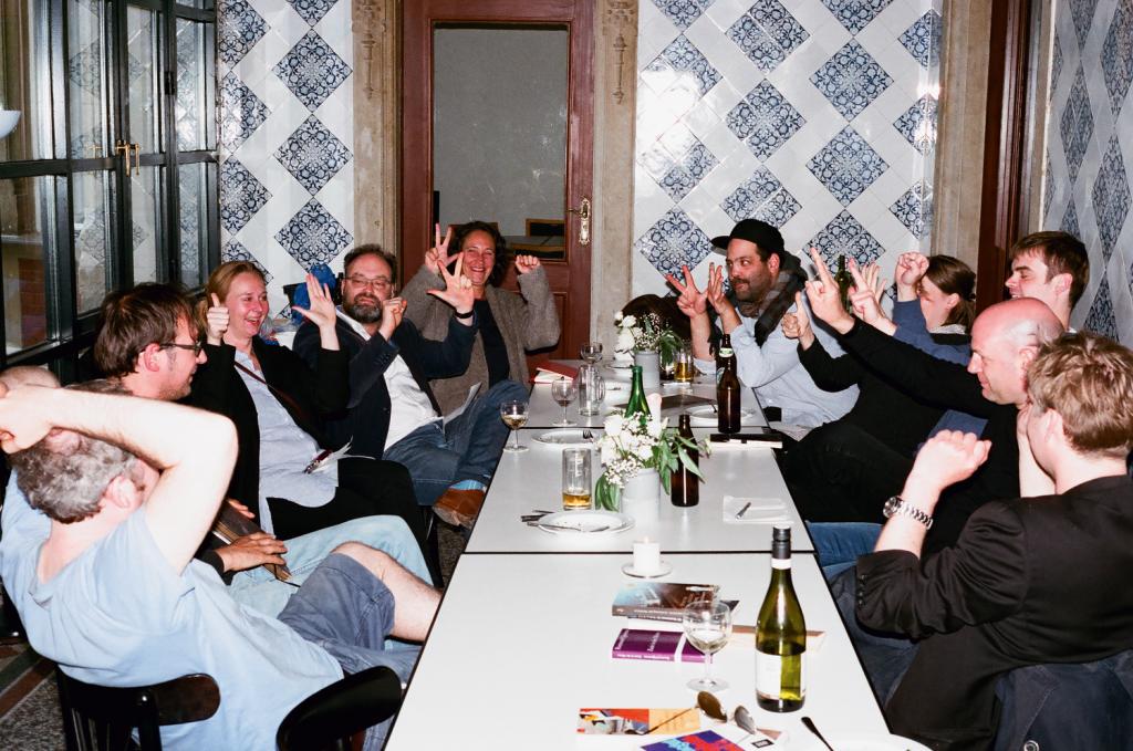 Auflösung einer Mimikry-Runde aus dem Spielesommer in Berlin. © Christian Werner