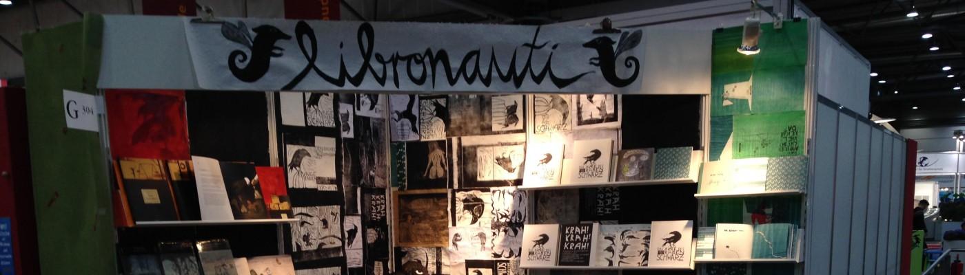 Libronauti-Stand. © Katja Suske