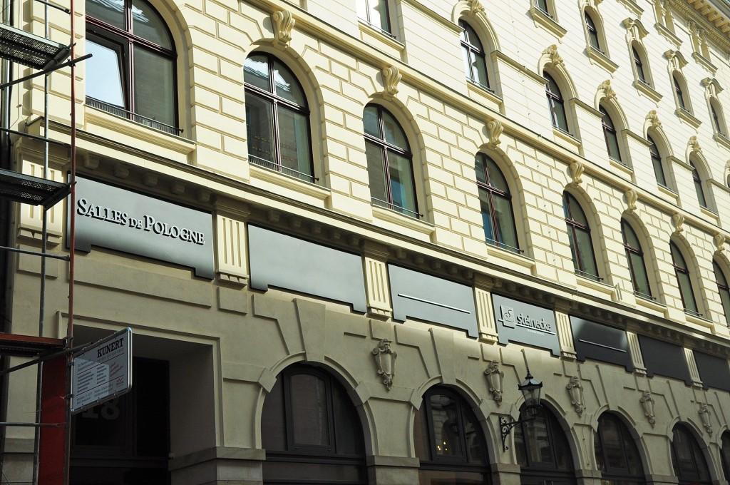 Das Hôtel de Pologne in der Hainstraße © Leoni Brach