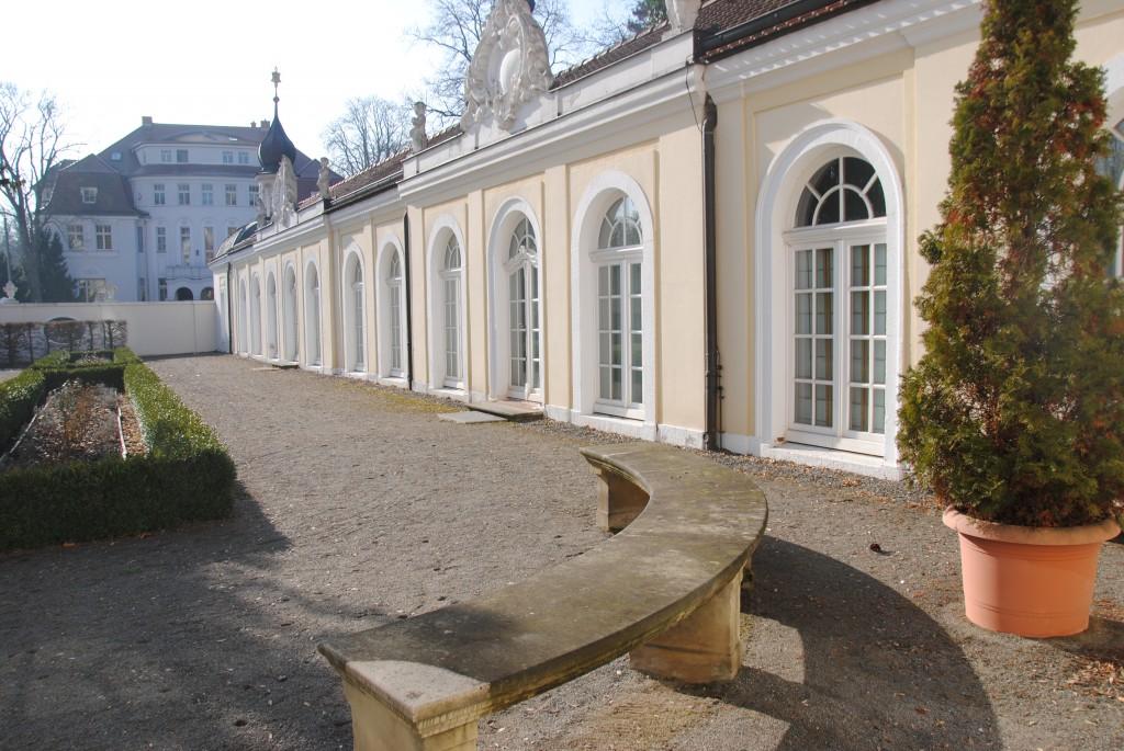 Die ehemalige Orangerie – heute Ort für Ausstellungen. © Linda Ehrlich