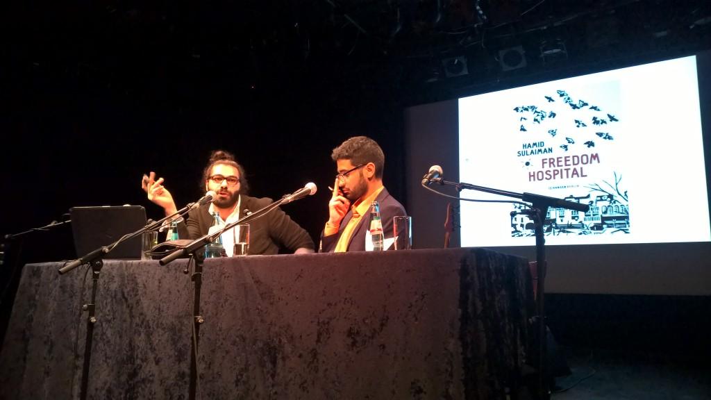 Hamid Sulaiman (links) und Mohamed Amjahid (rechts). © Rewert Hoffer