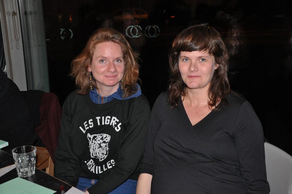 Simone Unger (links) und Christine Färber (rechts). © Lina Michaelis
