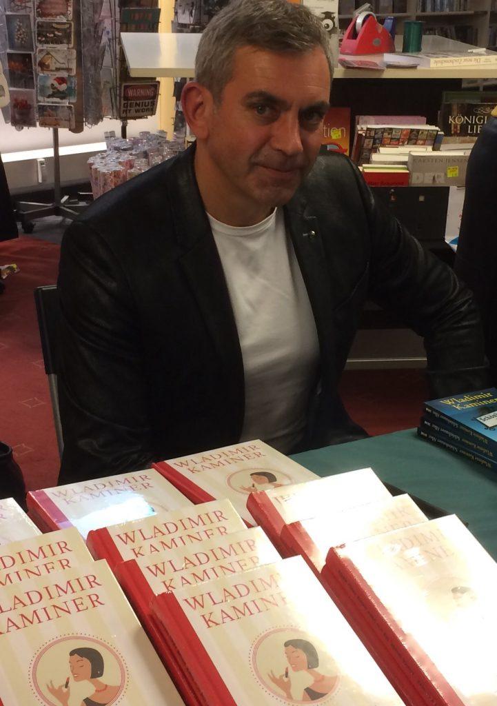 Wladimir Kaminer in der Buchhandlung Lehmanns. © Isabel Meißner