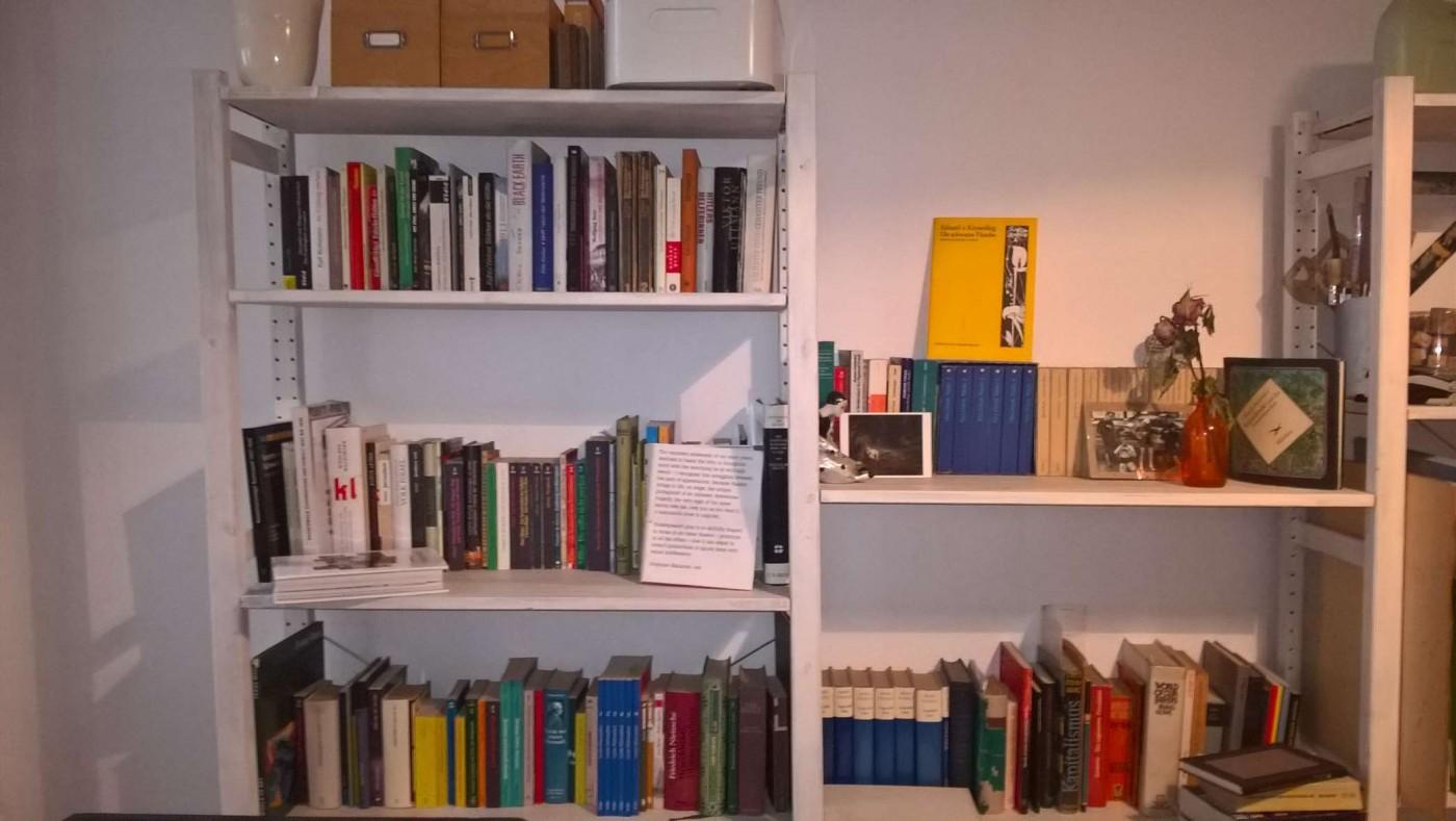 So sieht es bei Lili im Buchregal aus. © Lili Helmbold